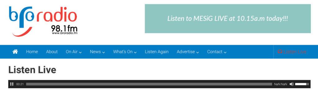 "MESiG on Barry ""Bro"" Radio 12.5.17"